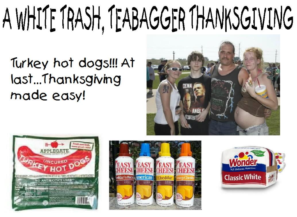 tea party white trash
