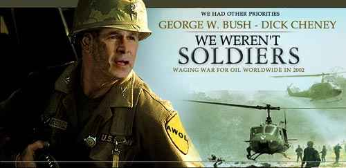 bush cheney werent-soldiers