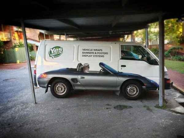 Cool Vehicle Wrap