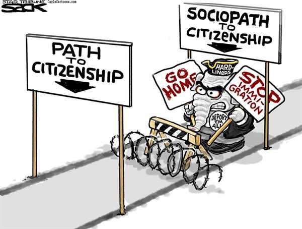 GOP Sociopath to Citizenship