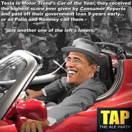 Tesla-and-Obama