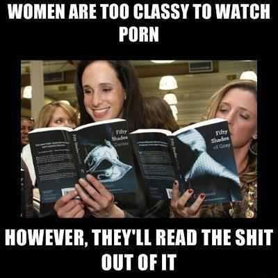 Women read Porn