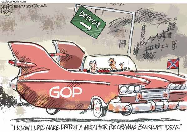 Blame Obama for Detroit