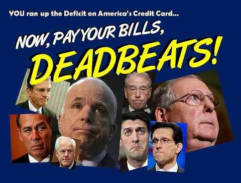 GOP Deadbeats