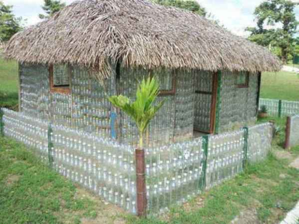 Plastic-water-bottle-house-recycled