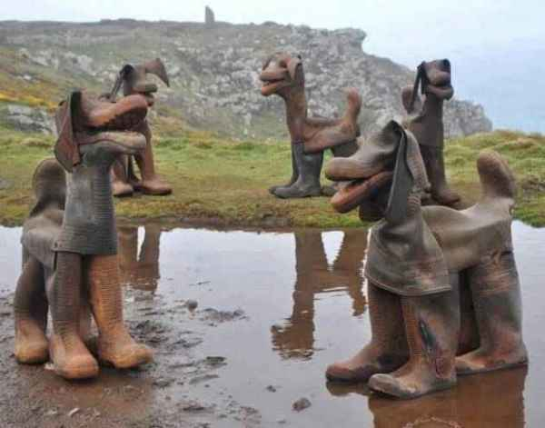 Recycle-old-rubber-boots