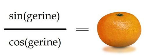 Tangerine equation