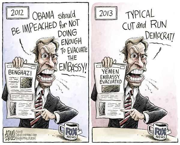 GOP Benghazi hypocrite