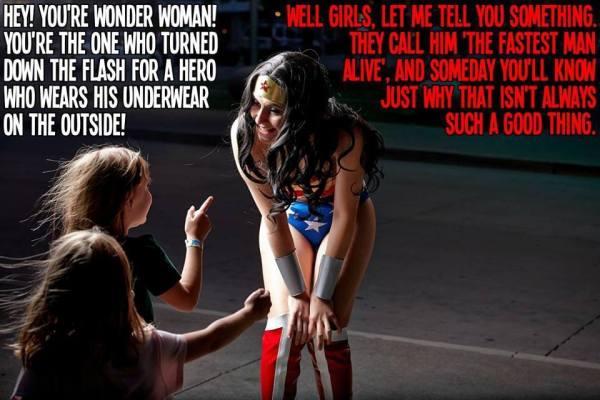 Silly Saturday-Wonder Woman