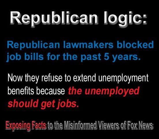 Rethug Logic Jobs