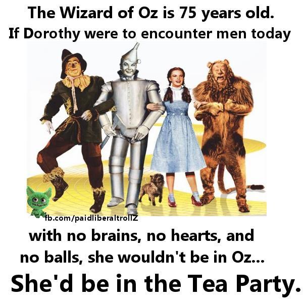 Wizard of Oz-Tea party