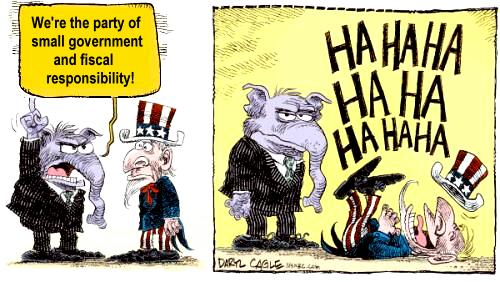 GOP small government