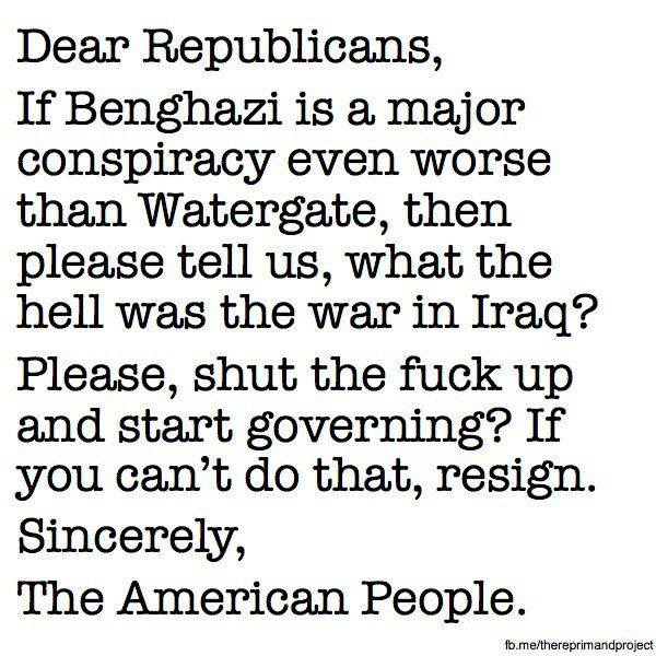 Dear Republicans
