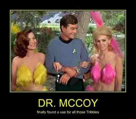 Dr. McCoy TRIBBLES