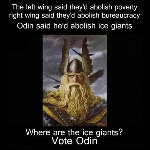 Odin Banished Ice Giants