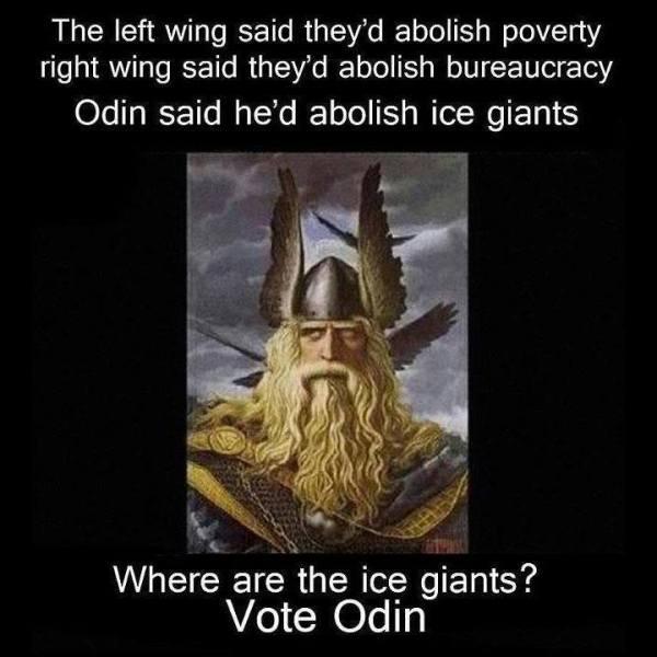 Odin Banished Ice Giants