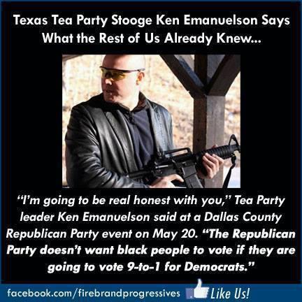anti black vote stupidity