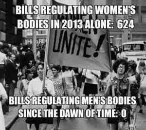 Bills regulating Women bodies