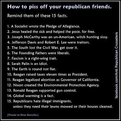 How to PISS OFF rethugs
