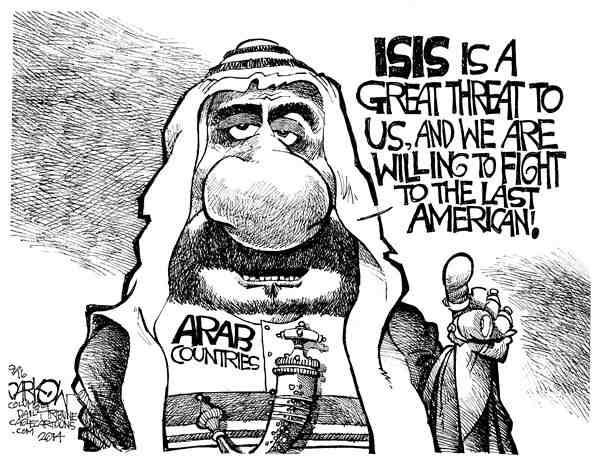 ISIS Threat to Arabs-Last American