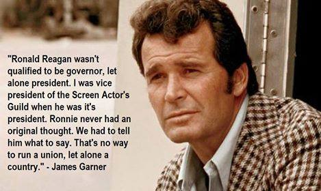 James Garner on Reagan