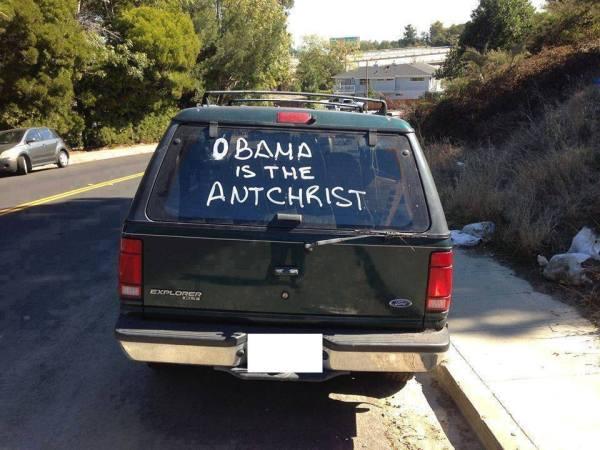 Obama AntChrist