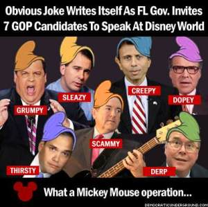 GOP Mickey Mouse candidates-disney-world