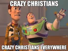 Crazy Christians Everywhere-Buzz Lightyear