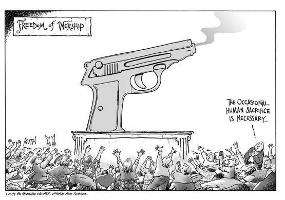 Freedom of Gun Worship